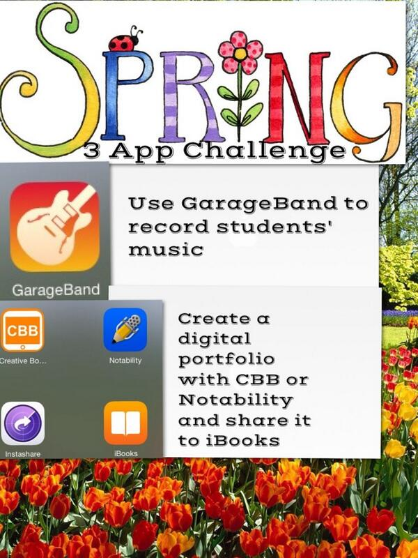 Happy Spring with this 3 App Challenge