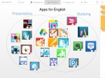 I created this puzzle to show teachers the best Apps to use for English.